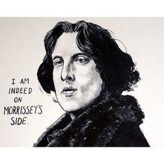 Oscar Wilde, Morrissey, The Smiths Poster Print