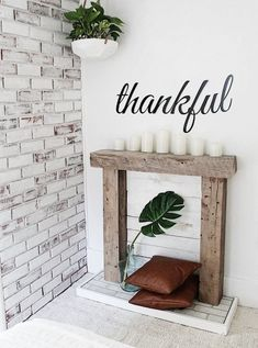 Great Pic fake Fireplace Mantels Ideas DIY Easy Faux Fireplace for Our Bedroom Faux Mantle, Faux Fireplace Mantels, Rustic Fireplaces, Farmhouse Fireplace, Fireplace Hearth, Fireplace Surrounds, Farmhouse Decor, Christmas Fireplace Mantels, Mantles