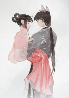 Anime Chibi, Manga Anime, Anime Couples, Cute Couples, Anime Kimono, Anime Love Couple, Country Art, Anime Scenery, Manga Comics