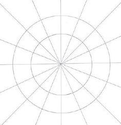 How to Draw a Mandala in Four Steps: River Flower Mandala - Cloth ...