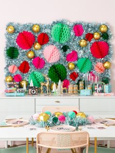 A Festive Honeycomb
