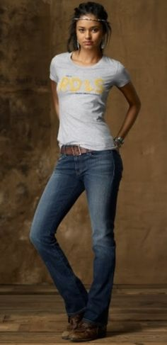 Sexy in a jeans and Tee...so simple