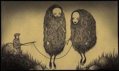 #monster #illustration John Kenn Mortensen