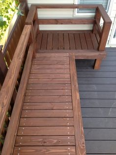 DIY Outdoor Furniture using 2x4's.