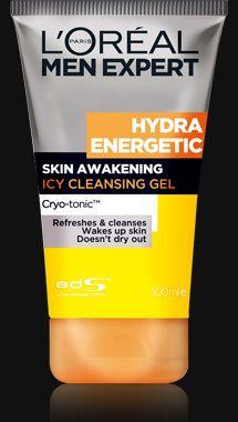 ★ 야근, 흡연, 음주, 스트레스로 지친 남성의 피부를 위한 수분 에너지 충전 솔루션-이드라 에너제틱의 클렌징 젤