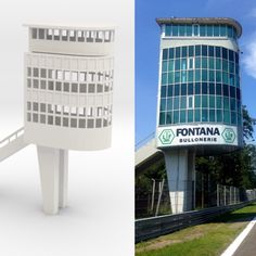 Monza Tower 3D printable for slot car track
