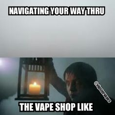 Navigating your way through the #vapeshop Ejuice Available at http://www.voomvape.com/category/e-juice