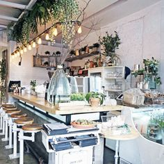 The Butcher's Daughter - The Coolest Design-y Coffee Shops In The U.S. - Photos