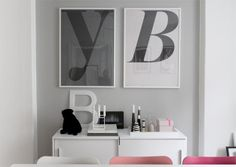 Playtype posters interieur