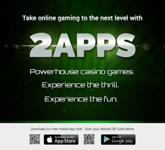 Download 2apps now and enjoy our huge selection of online games! #apps #appdev #mobile #gaming #onlinecasino