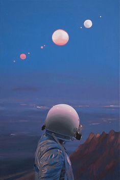 Astronaut: Paintings by Scott Listfield