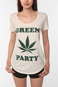 Truly Madly Deeply Green Party Tee