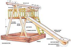 10 Diy Wooden Swing Set Plans