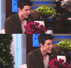 Imagine Shawn says y/n I wanted to umm give these to you *blushes * @camshwn