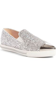 Swooning over these glamorous sneakers that sparkle and shine.