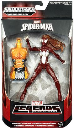 Marvel Infinite Legends Series Wave 3 Rev 1 Spider-Woman