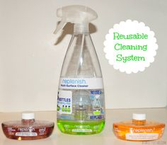 Replenish Smart Cleaning reusable cleaning system