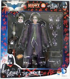 Medicom Toys: The Dark Knight Rises - Joker MAFEX Action Figure