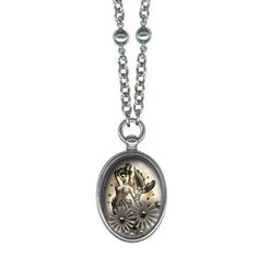 Steampunk Mermaid Necklace, $72, now featured on Fab.