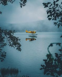 A curation of aesthetically pleasing moods Avion Jet, Piper Aircraft, Bush Pilot, Bush Plane, Float Plane, Flying Boat, Above The Clouds, Aviation Art, Adventure Is Out There