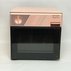 Details About Vintage Sharp R 4060 Half Pint Microwave Oven Camping Office Dorm Rv 400w 1985