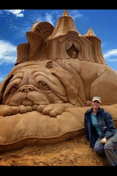 *Sand art