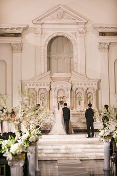 traditional downtown los angeles wedding