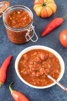 Preserving Chili Peppers - Chili Pepper Madness Hot Sauce Recipes, Chili Recipes, Pepper Recipes, Indian Chutney Recipes, Indian Food Recipes, Recipe Mix, Salsa Recipe, Easy Homemade Salsa, Savory Rice