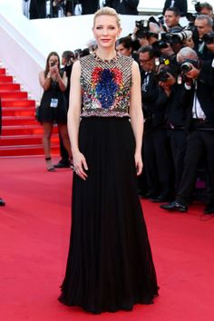 Cate Blanchette at Cannes 2014 in Givenchy.