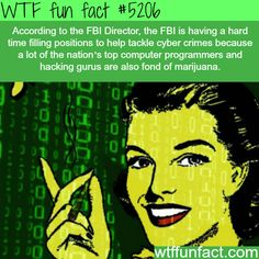 FBI is having hard time finding programmers - Legalize it - Problem Solved... WTF interesting & weird fun facts