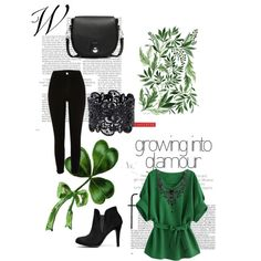 Loving Green by m-sisic on Polyvore featuring River Island and rag & bone