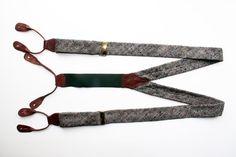 #tweed suspenders ! #seriously?! #vintage man style