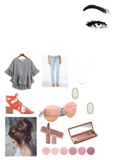 """Summer Vacation"" by amiee-aleese-bradley on Polyvore featuring Calvin Klein Jeans, Kendra Scott, Gorjana, Vince Camuto, Crap, Deborah Lippmann and Urban Decay"