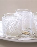 The Knitters Year by Debbie Bliss  Tealight covers