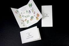 キミノーカ トータルデザインプロデュースロゴ ショップイメージ コンセプト リーフレット スタンプカード デザイン#パッケージデザイン #ブランディング #Packagedesign #Branding Stamp, Cards, Design, Stamps, Maps, Playing Cards
