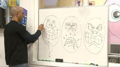 KQED art school video series great series of videos from PBS. includes elements of art, and lots of interviews with contemporary artists,  kind of like art 21. middle and hs  happy, Sad, Mad: Cartoon Drawing with Sirron Norris