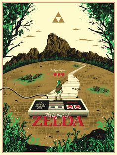 pixalry: The Legend of Zelda - Created by Derek Payne You can... My Tumblr, Legend Of Zelda, Illustration, Artist, Movie Posters, Beautiful, Instagram, Artists, Film Poster