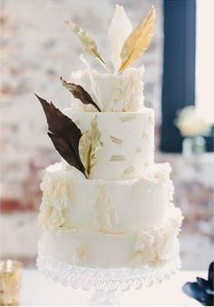 Feather cake from 100 layer cake.