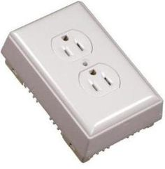 White On-Wall PVC Outlet Kit at Menards