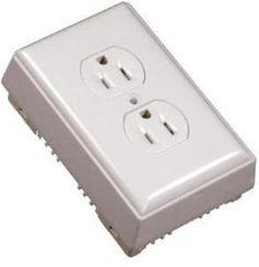 White On-Wall PVC Outlet Kit at Menards