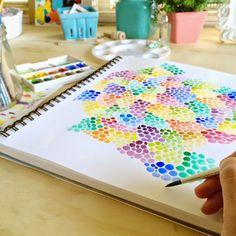pen & paint