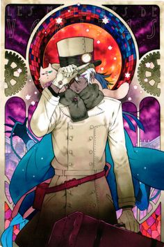 The Case Study of Vanitas | Memoir of Vanitas | Vanitas no Carte | Manga | Chapter 2 cover. Noe and Murr