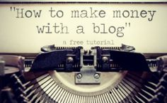A way to produce an income on your blog. It's a really good idea for me since I could use the extra income for other adventures and I like to write anyways.