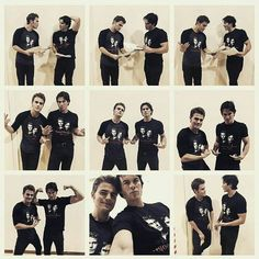 Ian Somerhalder and Paul Wesley TVD thevampirediaries vampirediaries iansomerhalder paulwesley tvd Paul Wesley, Damon Salvatore, Vampire Diaries Cast, Vampire Diaries The Originals, Nina Dobrev, Bonnie And Enzo, Stefan And Caroline, The Salvatore Brothers, Hello Brother