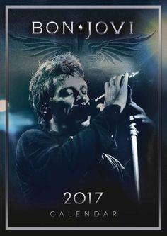 Bon Jovi Official A3 Calendar 2017