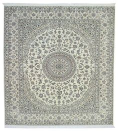 Perserteppich  Nain  6la mit Seide  Orientteppich carpet tappeto 323 x 252 cm