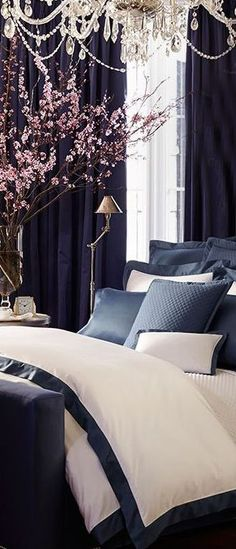 While glittering living rooms and blinding entryways are often the rule, Luxury Master Bedroom interior design is more restrained. White Bedroom, Dream Bedroom, Bed Design, House Design, Home And Deco, Luxurious Bedrooms, Luxury Bedrooms, Master Bedrooms, Beautiful Bedrooms