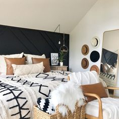 Room Ideas Bedroom, Home Decor Bedroom, Western Bedroom Decor, White Bedroom Decor, Modern Master Bedroom, Aesthetic Room Decor, My New Room, Home Decor Inspiration, Lorena Canals