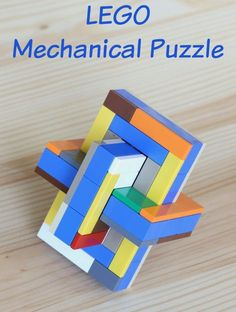 LEGO Mechanical Puzzle - the lego archives at frugal fun 4 boys