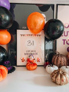 October is a fun month for kids, especially because of Halloween! Here's how to bring Halloween to your house every day with a simple countdown featuring Kinder Joy! All you need to decorate is a countdown print, a frame and a dry erase marker. Your kids will be so excited to see their countdown calendar every day... especially when there is a Kinder Joy Egg waiting for them! They'll love erasing the days and writing down how many days are left until the spookiest day of the year. Click to buy! Diy Craft Projects, Projects To Try, Diy Crafts, All Holidays, Holidays And Events, Haunted Halloween, Halloween Party, Bling Choker, Days Until Halloween